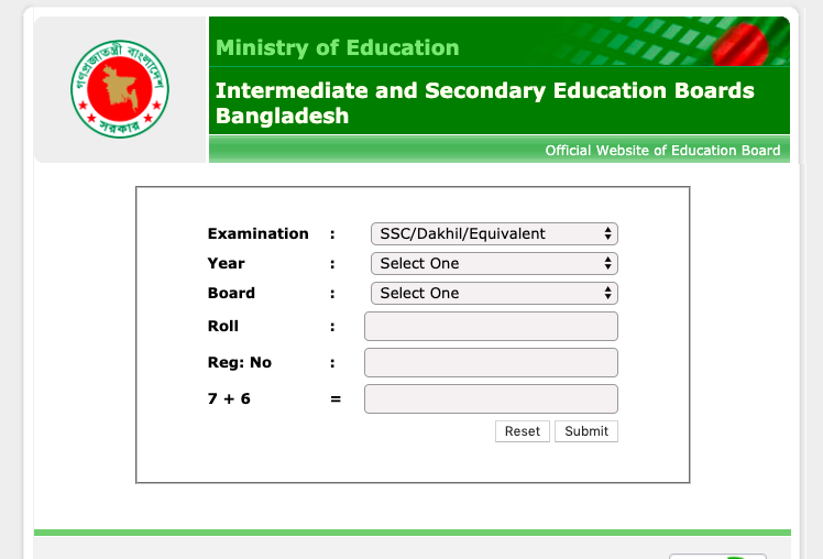 bd hsc results
