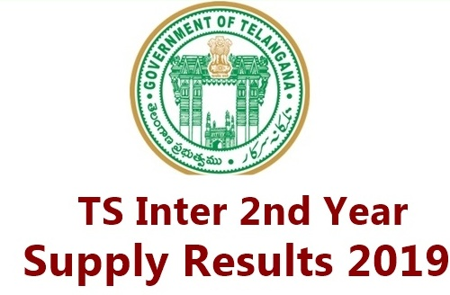 TS Inter 2nd Year Supplementary Results 2019