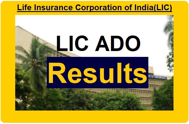 lic ado result