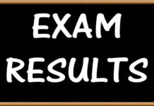 EXAM RESULTS