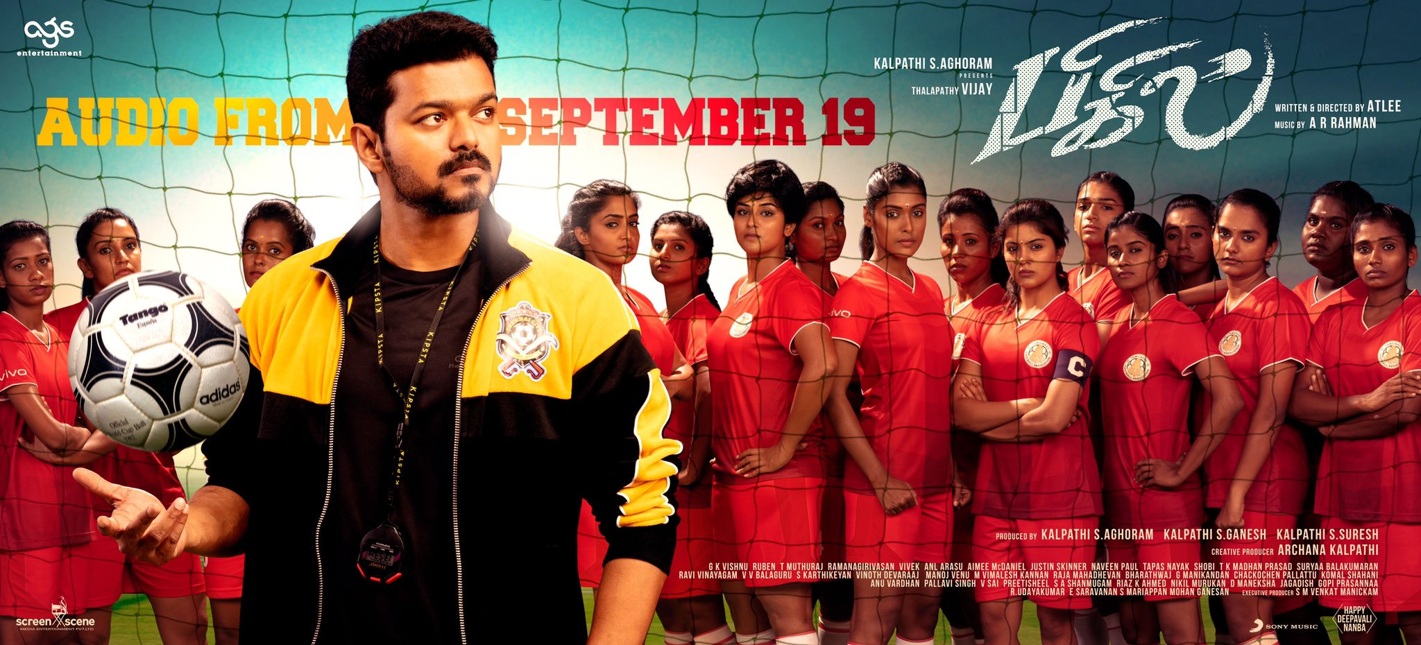 Bigil Audio Launch Poster